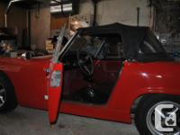 Make Austin Year 1966 Colour Red Trans Manual kms