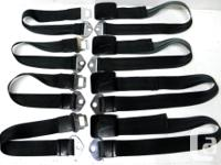 1966 Chevy II Chevelle SS Beaumont Impala Seat Belts