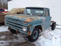 Rare 1966 Chevy short wheel base 3/4 ton C 20 ..Rolling