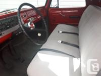 Make Chevrolet Model C-10 Year 1966 Colour Red kms