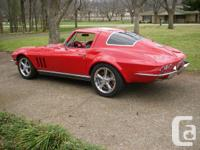 Imagine driving a 1966 Corvette that feels like a 2000