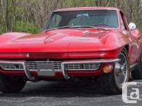 1966 Chevrolet Corvette Coupe has a 427 C.I. (425 HP)