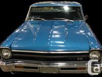 1966 Chevy II Nova, 350 7 barrel Hollley, original