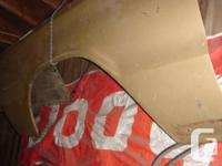1966 dodge charger drivers side front fender ,  clean