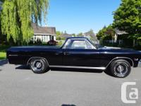 Make Chevrolet Model El Camino Year 1966 Colour Black