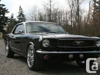 1966 Ford Mustang, 289, 3 speed manual, only has 1200
