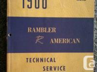 1966 AMC Rambler American official Service Manual in