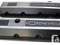Chevrolet Big Block 502 454 aluminum valve covers short