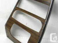 GM Factory original Deluxe woodgrain walnut centre dash