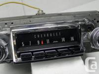 1967 Chevrolet Chevelle Malibu El Camino factory indash