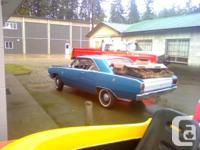 1967 DODGE DART GT , STRAIGHT SIX AUTO, RUNS BUT NEEDS