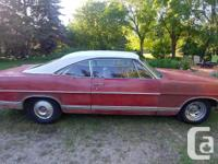 Make Ford Year 1967 Colour red Trans Automatic kms