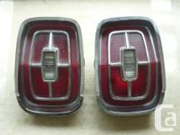 Pair of tail lights from 1967 Ford galaxy 500 (XL?)