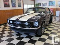 Gorgeous 67 Ford Mustang Coupe, fresh 302 engine, so