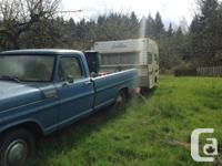 For sale or trade. 1967 mercury M100, parts or restore.