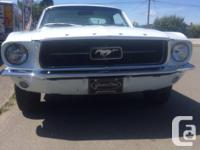 Make Ford Model Mustang Year 1967 Colour White Trans