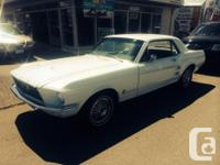 Make Ford Model Mustang Colour White Trans Automatic