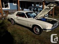 Horse Classic 1967. 289 engine, completely rebuilt