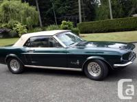 Make Ford Model Mustang Year 1967 Colour Green Trans