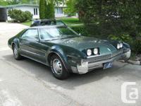 1967 Oldsmobile Toronado 2 Door Hardtop has 103,000
