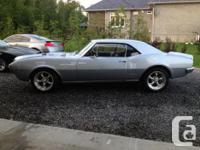 Make Pontiac Model Firebird Year 1967 Colour silver