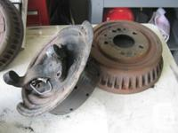 1968-1972 Oldsmobile Drum Brake parts, front drums,