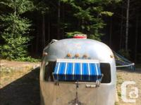 Mostly renovated airstream trailer. I have been working