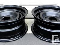 Chevrolet GM Kelsey original plain steel wheels /rims