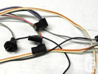 1968 69 Chevrolet Camaro Console wiring harness for