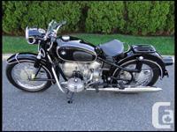Make BMW Model R Year 1968 kms 30600 HIGHLIGHTS
