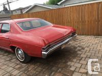 Make Chevrolet Model Malibu Year 1968 kms 24000 1968