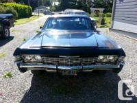Make Chevrolet Model Caprice Year 1968 Colour black