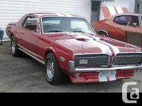 Ol Skool' 68 Cougar - NOT a dragster; a 'Cruiser'!  289