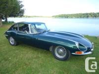 1968 Jaguar XKE 2 +2 Coupe. Original, no physical body