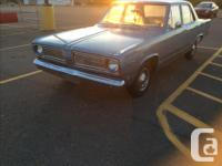 Make Plymouth Year 1968 Colour Blue Trans Automatic