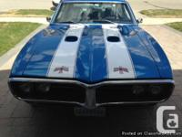 1968 custom firebird, complete restoration,custom