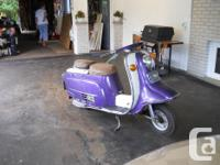 A very rare 1968 Rabbit Superflow S601 Scooter in great