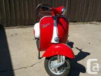 Make Vespa Model Primavera Year 1968 kms 152 In