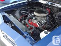 Make Pontiac Year 1969 Colour Blue kms 15 350smb t350