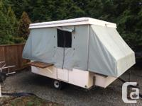 1969 century tent trailer. We bought this trailer a few