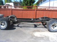 I have a frame for a 1969 Chev Pick up Truck, 2