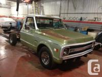 1969 Chev C 10 long wheel base 1/2 ton..350 with only