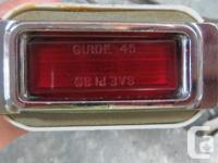 Original side marker lights with sockets and pigtails