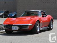 For Sale RARE 1969 Monza Red Roadster with two trophy