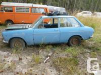 69 datsun 1000 2 dr in decent cond ,will need to be
