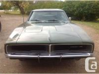 Make Dodge Model Charger Year 1969 Colour Dark Green