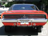 1969 DODGE CHARGER RT/SE 440 AUTO ALL ORIGANAL #S