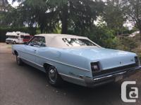 Make Ford Model Galaxie Year 1969 Colour blue kms