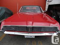 MAY PROFESSION VERY RARE POSSIBILITY 1969 COUGAR