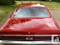 Make Mercury Model Cougar Year 1969 Colour Red Looking